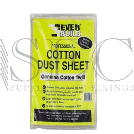 everbuild dust sheet