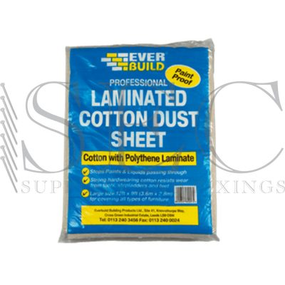 laminated dust sheets